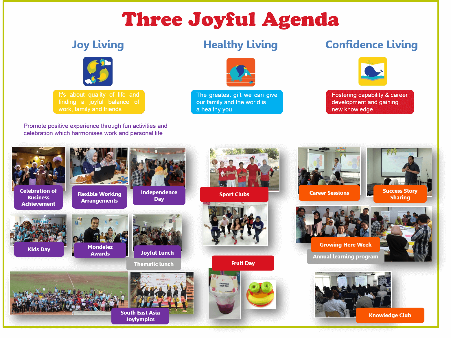 Our Joyful Agenda